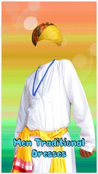 Men Traditional Photo Dresses poster