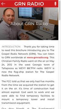 Gospel Radio Network screenshot 3