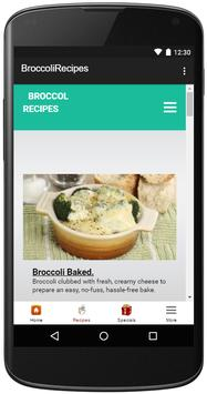 Broccoli Recipes screenshot 2
