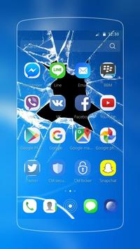 Broken Screen Wallpaper Theme poster Broken Screen Wallpaper Theme screenshot 1 ...