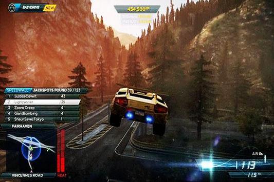 New Games Nfs Most Wanted Guide apk screenshot