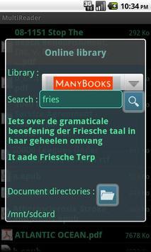 MultiReader Free apk screenshot