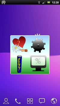 Daisy battery widget screenshot 2