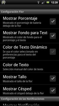 Daisy battery widget screenshot 4
