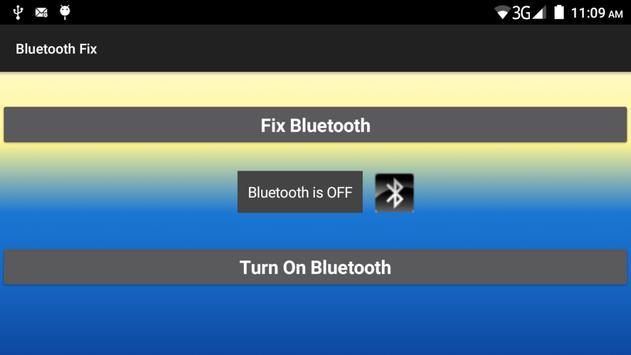 Bluetooth Fix apk screenshot