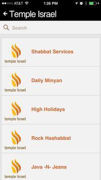 Temple Israel screenshot 2