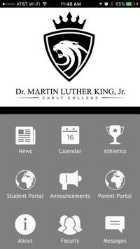 MLK, Jr. Early College poster