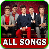 One Direction songs and lyrics icon