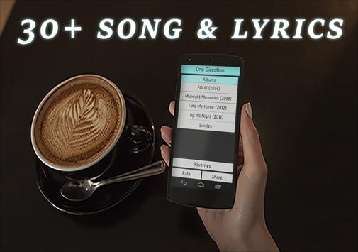 One Direction songs and lyrics screenshot 6
