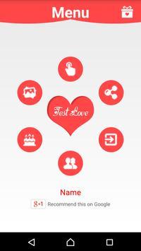 💖 Love test 💖 screenshot 1