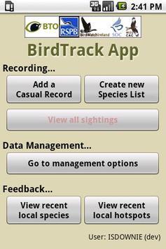 BirdTrack Legacy poster