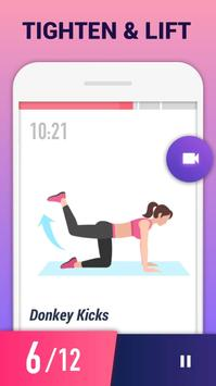 Exercícios para Pernas e Glúteos apk imagem de tela