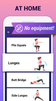 Buttocks Workout - Hips, Legs & Butt workout apk screenshot