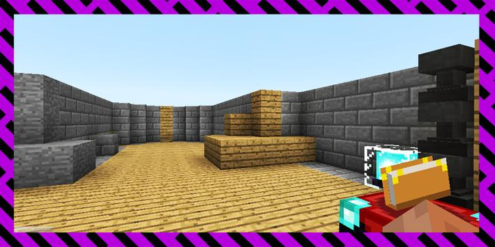 Find the Button V4. Map for MCPE screenshot 16