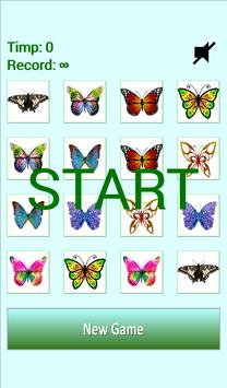 Butterflies Matching Game poster