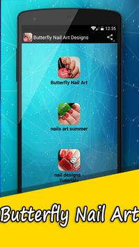 Butterfly Nail Art Designs poster
