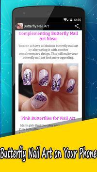 Butterfly Nail Art Designs apk screenshot