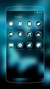 butterfly blue black magic apk screenshot