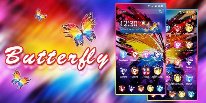 Butterfly Beauty Theme apk screenshot