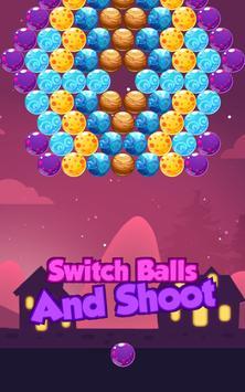Bubble Shooter Night screenshot 4