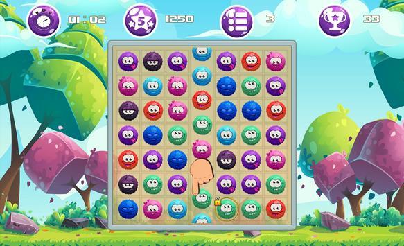 Bubble Smiley - Match 3 Game screenshot 1
