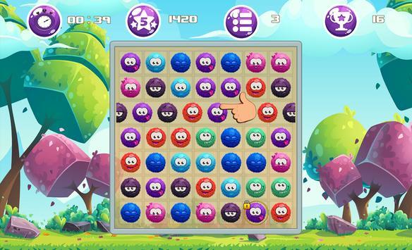 Bubble Smiley - Match 3 Game screenshot 8