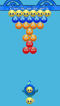 Emoji Bubble Shooter : Puzzle games poster
