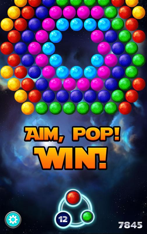 bubble shooter cosmic for android apk download. Black Bedroom Furniture Sets. Home Design Ideas