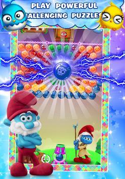 Garga & Smurf 💙 Village Bubble Blast 💙 poster