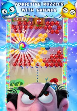 Garga & Smurf 💙 Village Bubble Blast 💙 screenshot 1