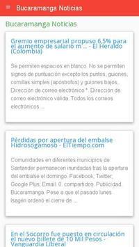 Noticias de Bucaramanga apk screenshot