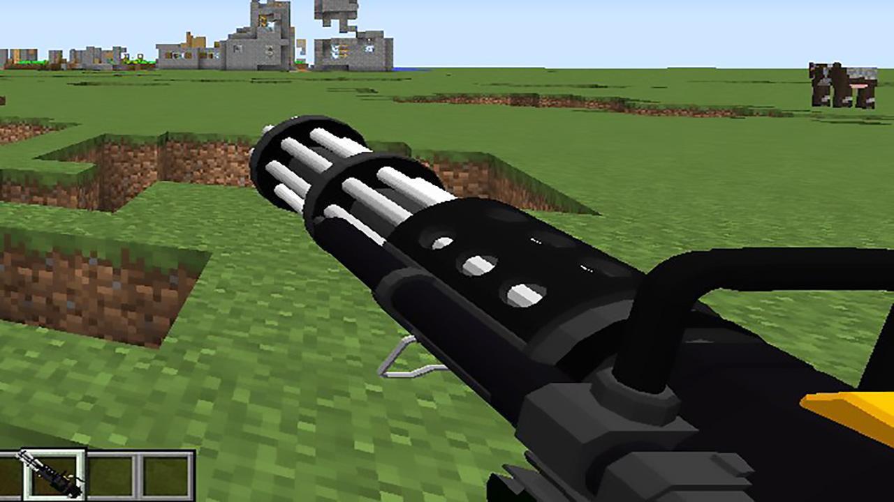 моды на майнкрафт версия 1.10 на оружие