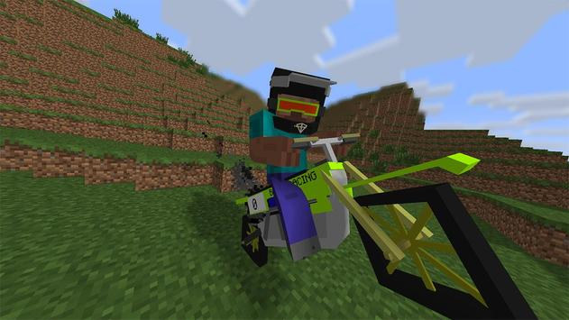 Mod for cars in Minecraft PE poster