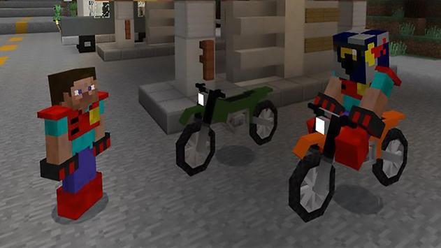 Mod for cars in Minecraft PE apk screenshot