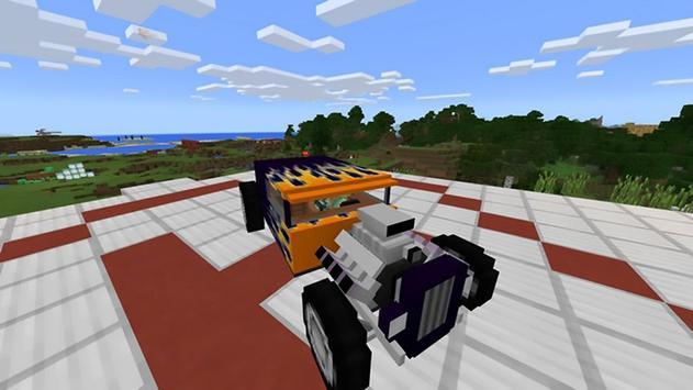 Mod for cars in Minecraft ツ apk screenshot