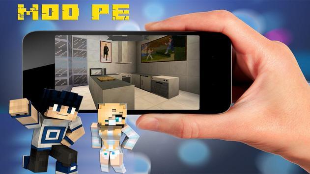 Pocket Decoration Mod for Minecraft PE poster