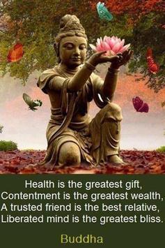 Buddha Qoutes screenshot 1