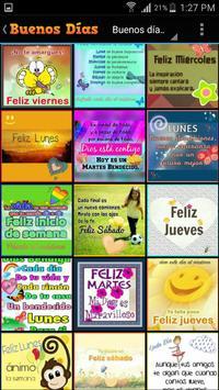 Buenos días saludos y mensajes apk screenshot