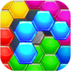 Hexic Puzzle: Hexagon Block HD simgesi