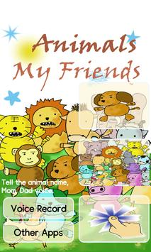 Animals My Friends - Baby poster