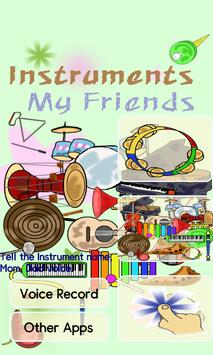 Instruments my friend - baby poster