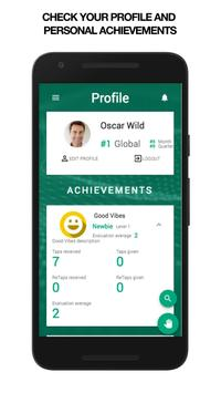 Tap My Back - Employee Appreciation & 360 feedback apk screenshot