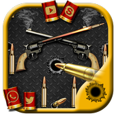 BULLETS AND GUN icon
