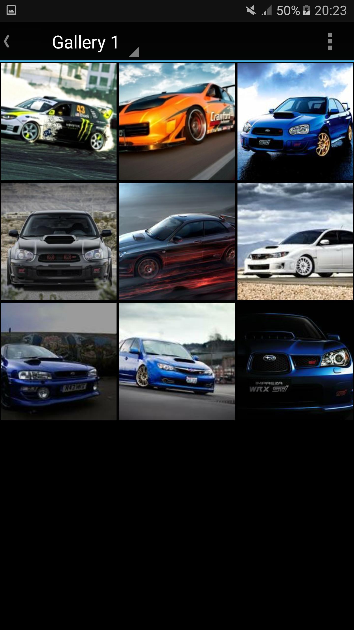 Modified Subaru poster