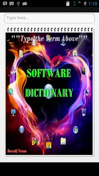 Computer Software Terms poster