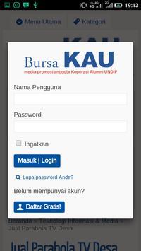 bursaKAU screenshot 5