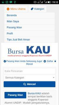 bursaKAU screenshot 3