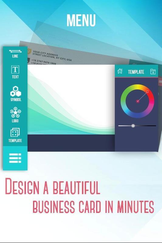 Business card maker creator apk baixar grtis corporativo business card maker creator cartaz reheart Gallery