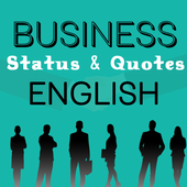 Business Status in English icon