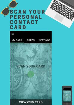 Business Card Scanner poster